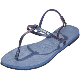 havaianas You Riviera Sandals Women Indigo Blue